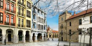 Avilés casco histórico