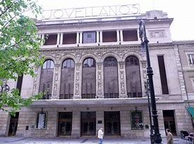 Teatro Jovellanos Ruta Gijón ilustrado